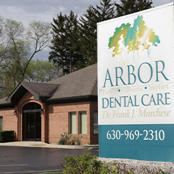 Outside view of Arbor Dental Care