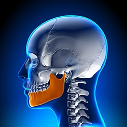 Animation of head jaw and neck