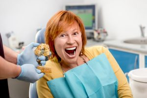 Did you know even teenagers with either one or more missing teeth are good candidates for dentures in Lisle?